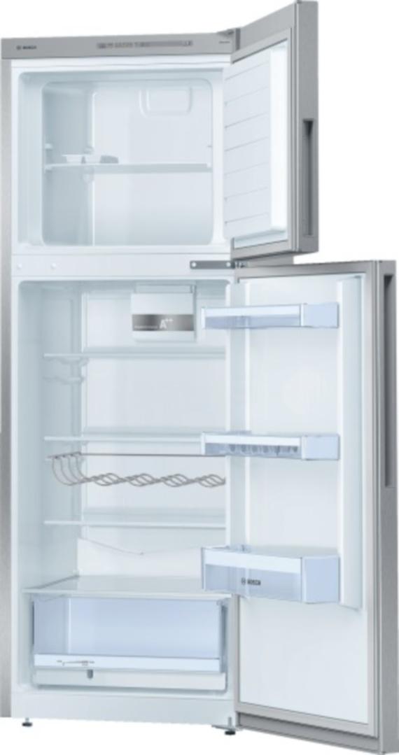 Ein offener Kühlshrank