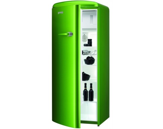 der gorenje k hlschrank rb 60299 ogrl lime green retro. Black Bedroom Furniture Sets. Home Design Ideas