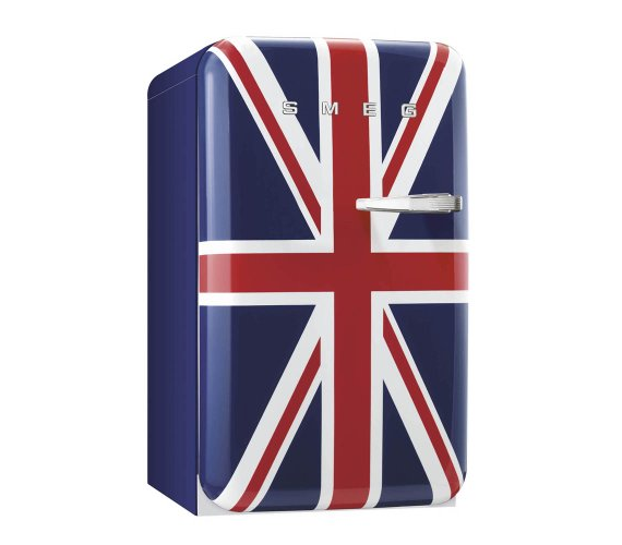 der smeg k hlschrank fab10luj union jack ist ein hingucker. Black Bedroom Furniture Sets. Home Design Ideas