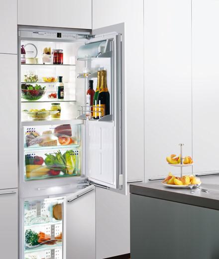 Eine Kühlkombi von Liebherr