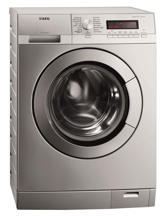 Die AEG Waschmaschine L87495XFL